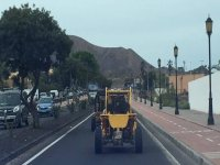 Buggie por las calles de Corralejo