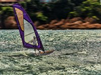 Speed on the windsurf board