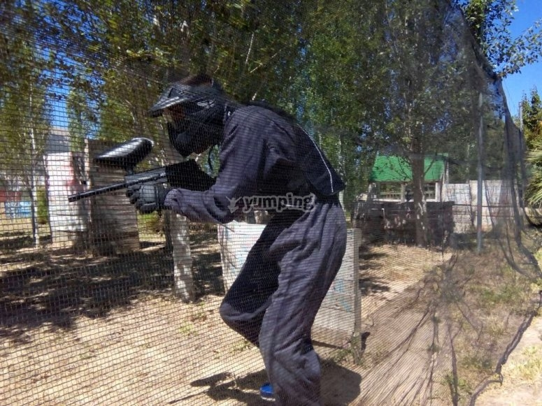 Giocatore di paintball