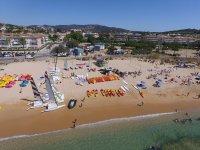 Nuestra área de playa privada