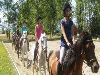 De ruta a caballo