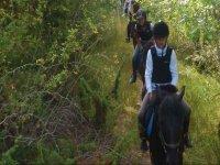 Rutas a caballo en los campamentos
