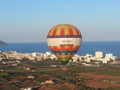 在马洛卡乘坐热气球+照片+卡瓦