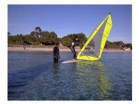 comenzando con el windsurf