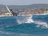 salto de windsurf