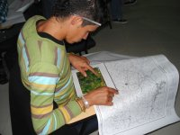 interpreting the map