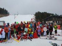 Carnaval en la estacion de esqui