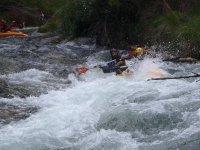 Rapidos en kayak