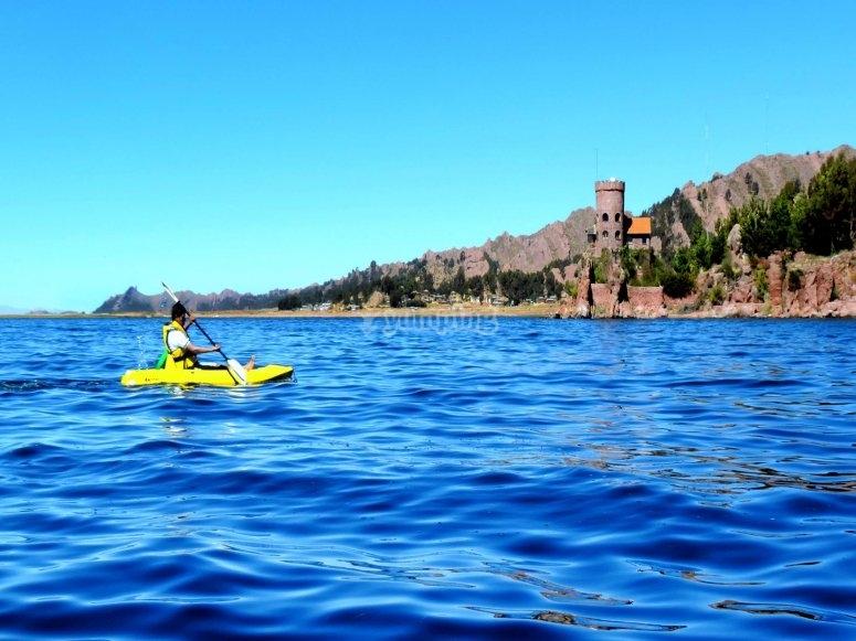 Ruta en Kayak por el mar