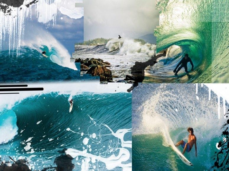 Practica de Surf este verano