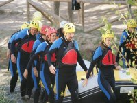 Rafting para team building