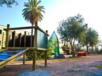 Área de paintball infantil