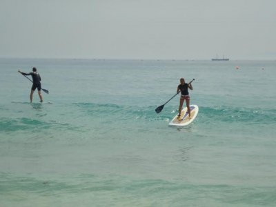 Initiation Paddle surfing course, 4 hours