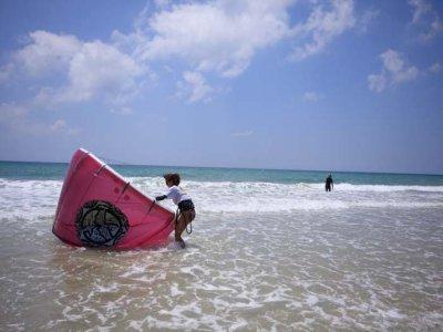 1天发现风筝冲浪4小时