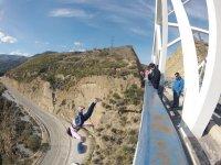 Give the boyfriend a bungee jump