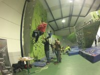 Activities in our climbing wall