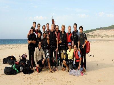 为期2天的风筝冲浪课程,8小时,塔里法