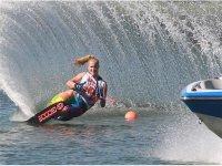 Competicion de squi acuatico