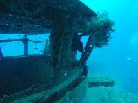 Inmersion en restos hundidos