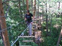 Arborismo en los Pirineos