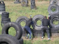 Entre neumáticos