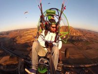 Paragliding for bachelor parties
