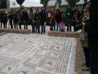 Visita Guiada a Italica ilustraciones del suelo