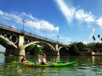 Kayak baptism in Guadalquivir River + photos