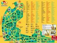 Mapa del Zoo de Barcelona