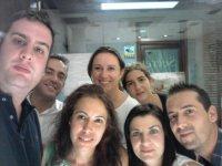 Selfie de empresa