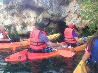 lagunas de ruidera en kayak