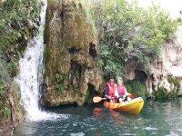 travesias en kayak en las lagunas de ruidera