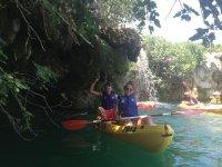 rutas en kayaks en las lagunas de ruidera