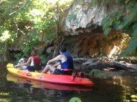 rincones en kayak ruidera