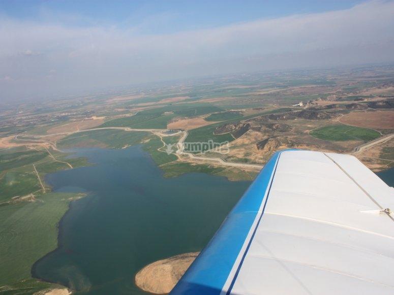 Aircraft flight session