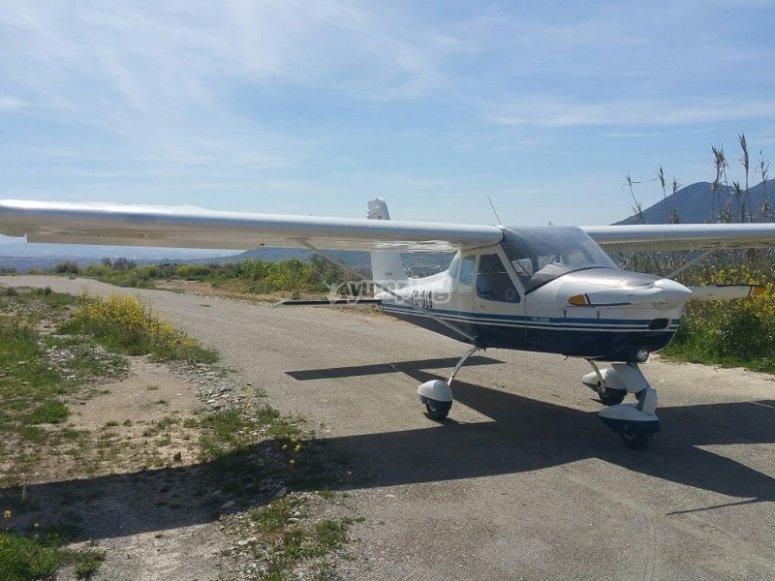 Volar en avioneta en Atarfe