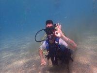 Waving underwater