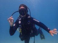 Diver in Sant Antoni