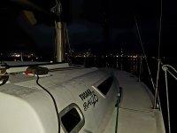 En el puerto de noche