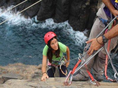 Media Jornada de escalada en Canarias