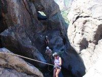 Grupo de escalada en Gran Canaria