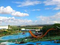 Vista parque acuatico de Villafranca
