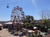 la zona infantilo del parque