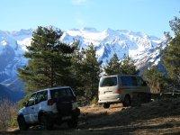 4x4 route through the Sierra Nevada