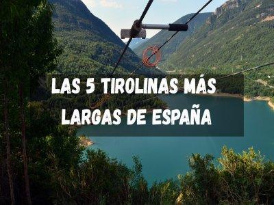 Las 5 tirolinas más largas de España