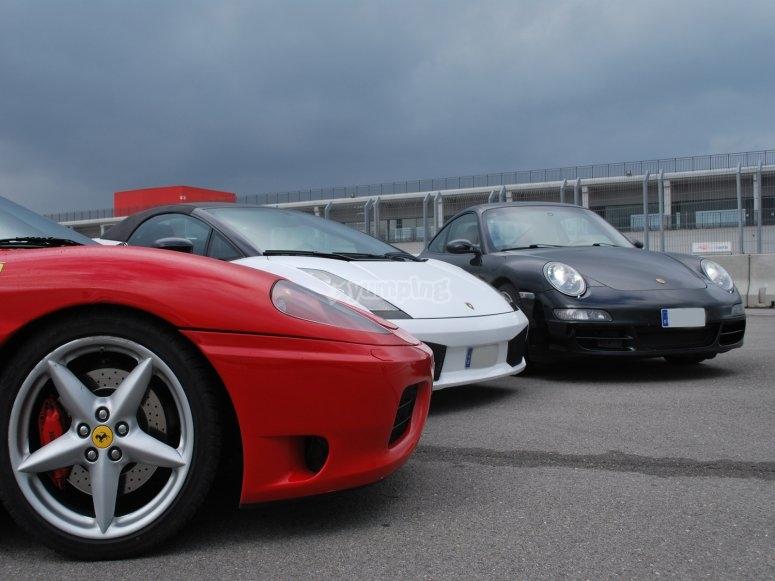 Ferrari, Porsche y Lamborghini