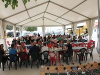 Events in tent