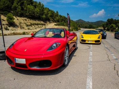 Conducir un Ferrari F340 F1 en Carretera 20 km