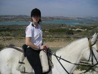 Disfrutando de la equitación