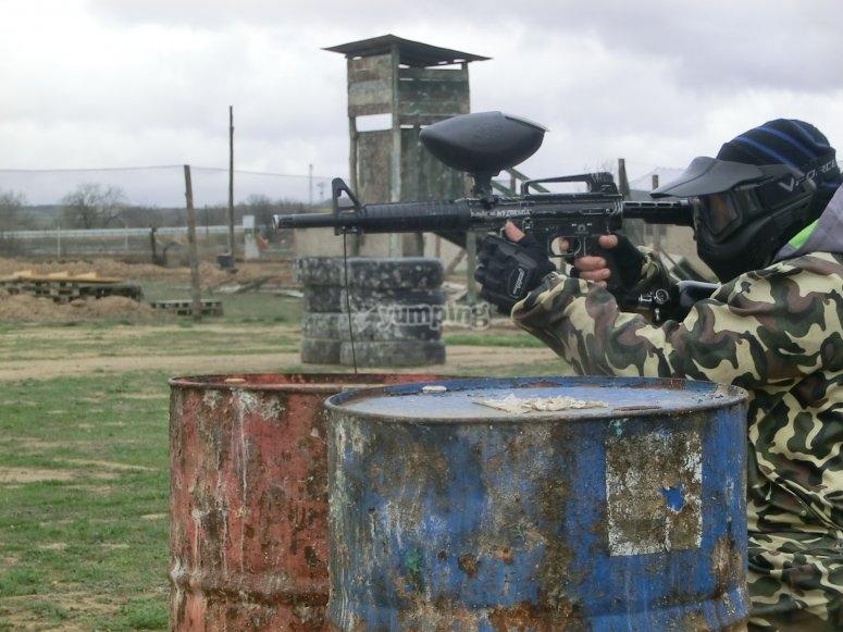 Camuflaje militar en Paint Combat